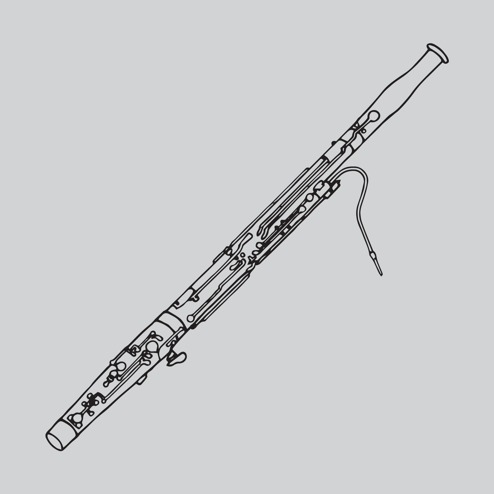Bassoon Outline