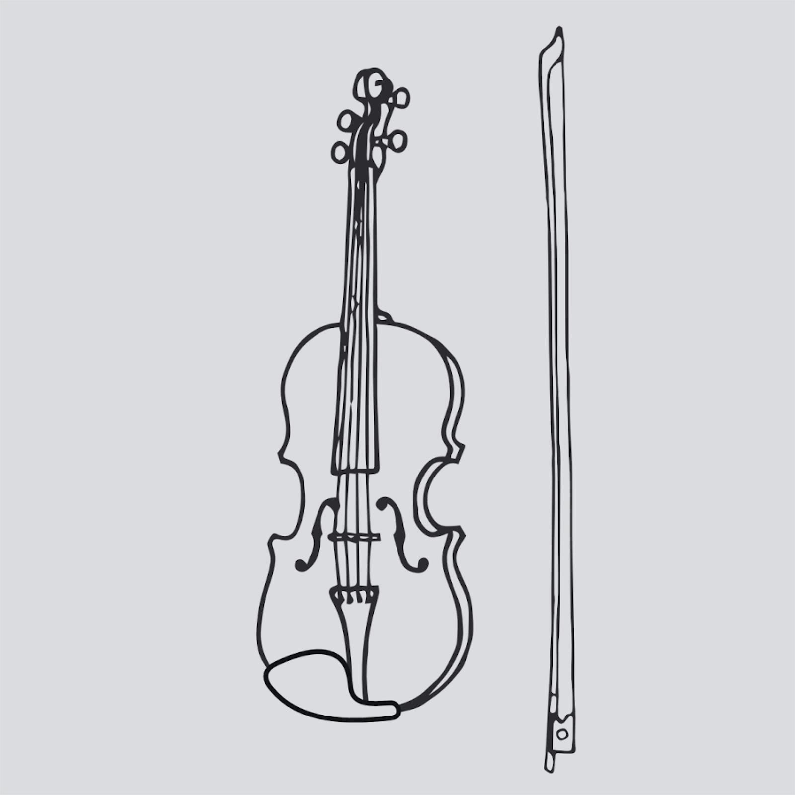 Violin Coloring