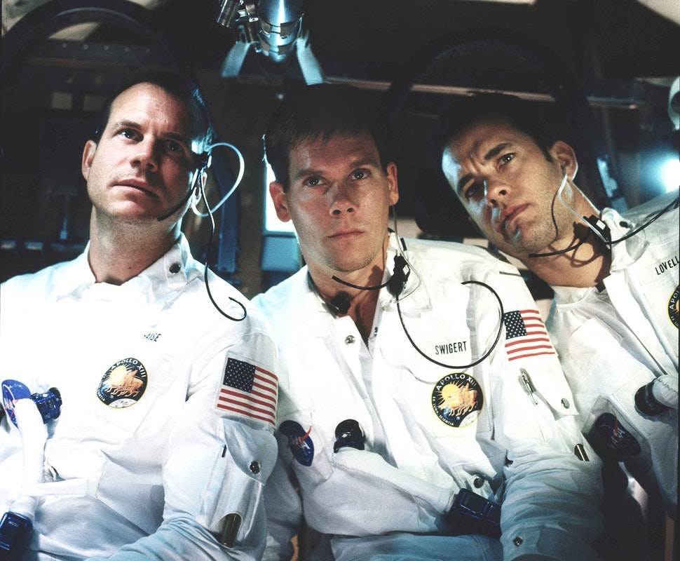screen cap of Apollo 13 three astronauts sitting