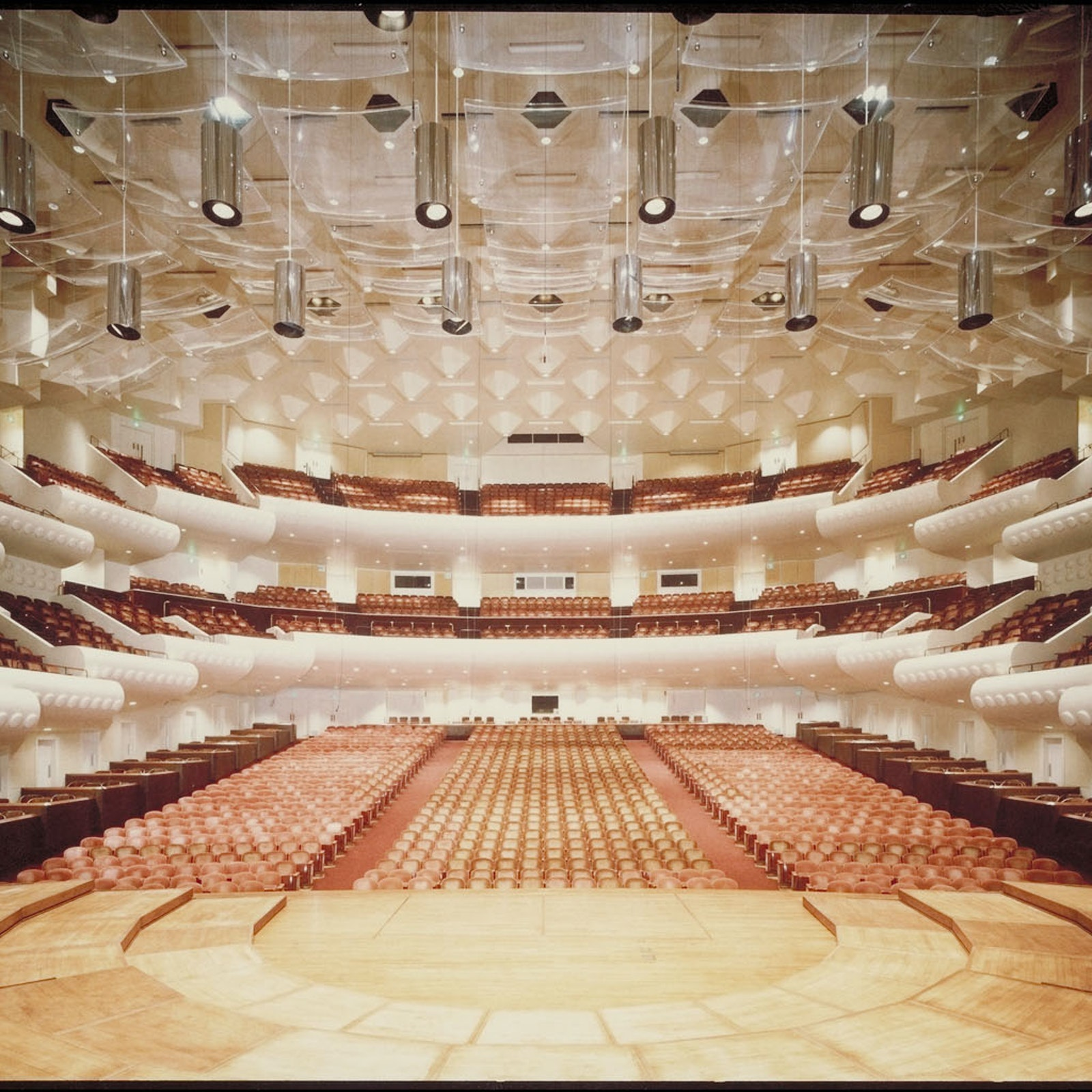 Davies Symphony Hall Interior San francisco Symphony