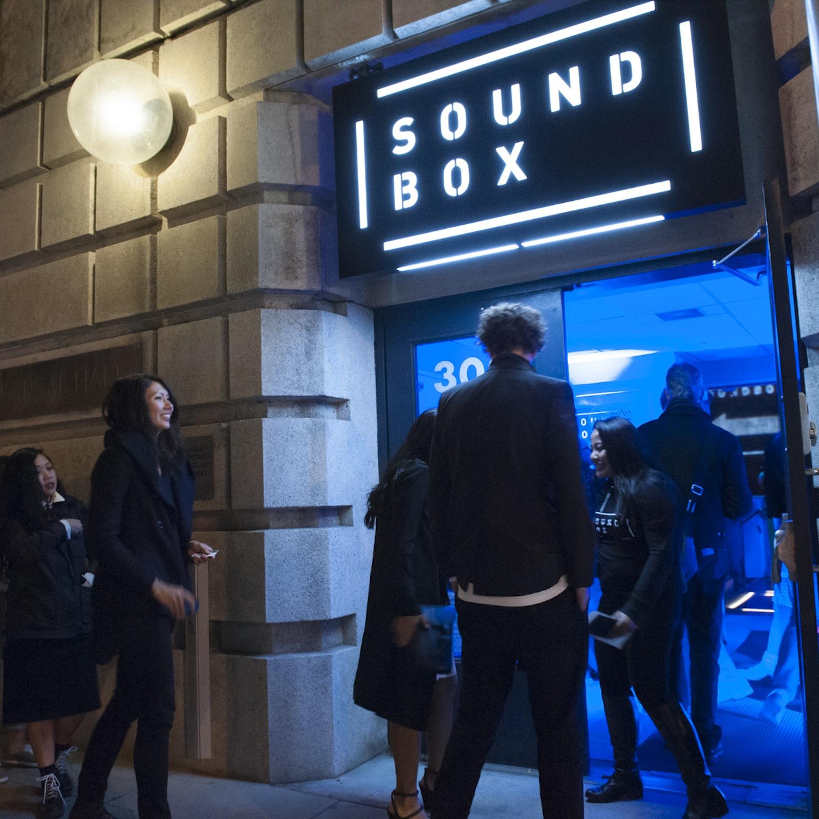 SoundBox entrance 300 Franklin